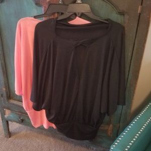 Tops - Womens wide waistband tops bundle of 2